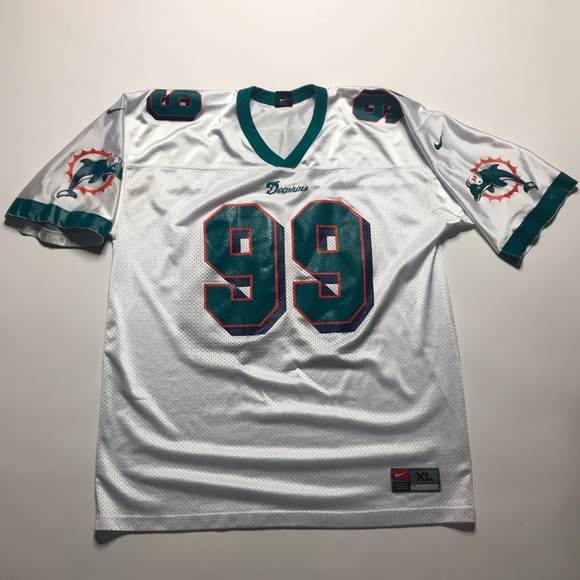 best sneakers 81cf0 d7601 Jason Taylor Miami Dolphins Vintage Nike Jersey